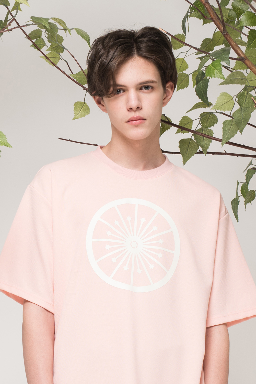 [UNISEX] Wheel of fortune T-shirt (Pink)