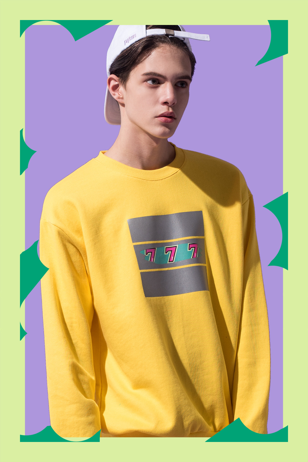 [UNISEX] JACKPOT Sweatshirt (Yellow)